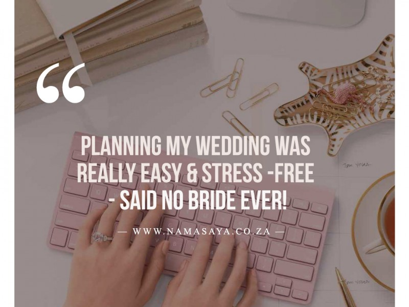 THE 5 STAGES OF WEDDING PLANNING DRAMA